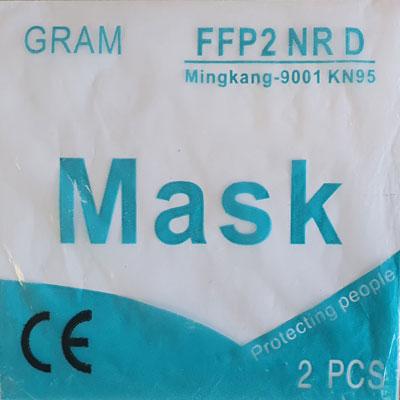 Respirátor GRAM FFP2 NR D