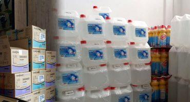 Jednorázové rukavice a antibakteriálne prípravky skladom