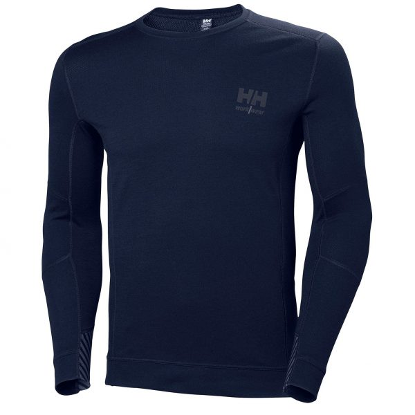 Helly Hansen - LIFA Merino tričko dlhý rukáv, navy