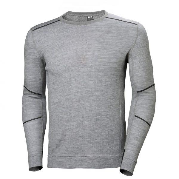 Helly Hansen - LIFA Merino tričko dlhý rukáv, šedé