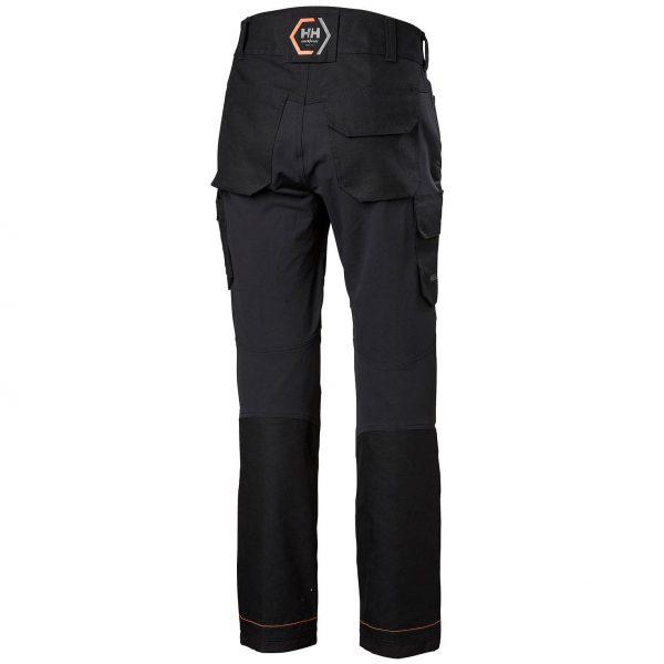 Helly Hansen - Chelsea Evolution pracovné nohavice, čierne