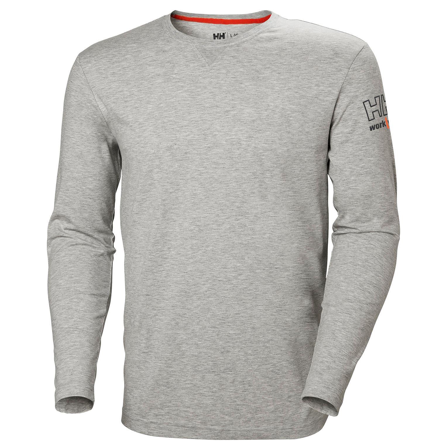 Helly Hansen Kensington tričko dlhý rukáv šedé