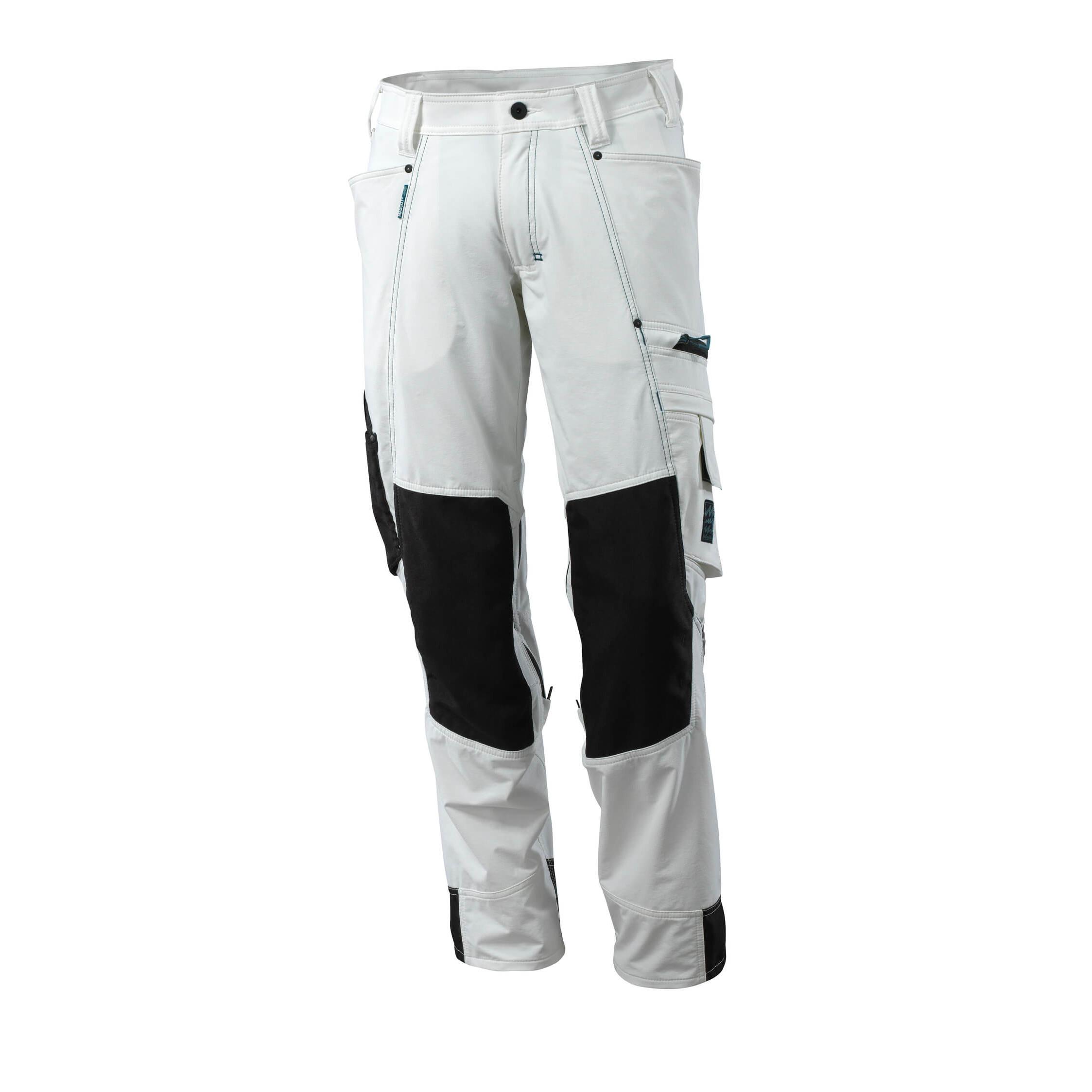 Pracovné nohavice Mascot Advanced biele