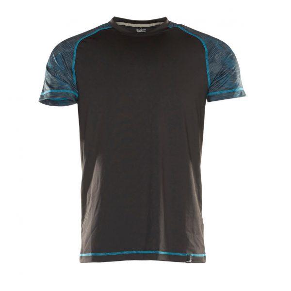 Funkčné tričko s krátkym rukávom, Mascot Advanced, čierne
