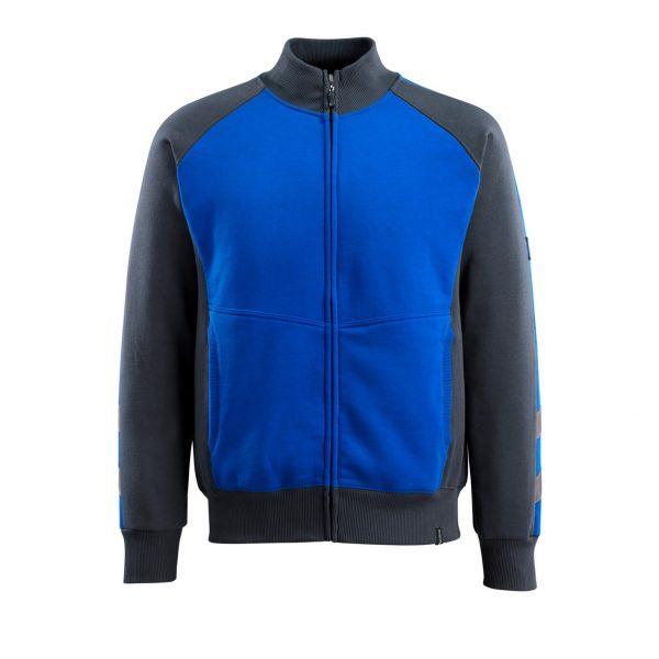Mikina na zips Mascot Amberg, modrá