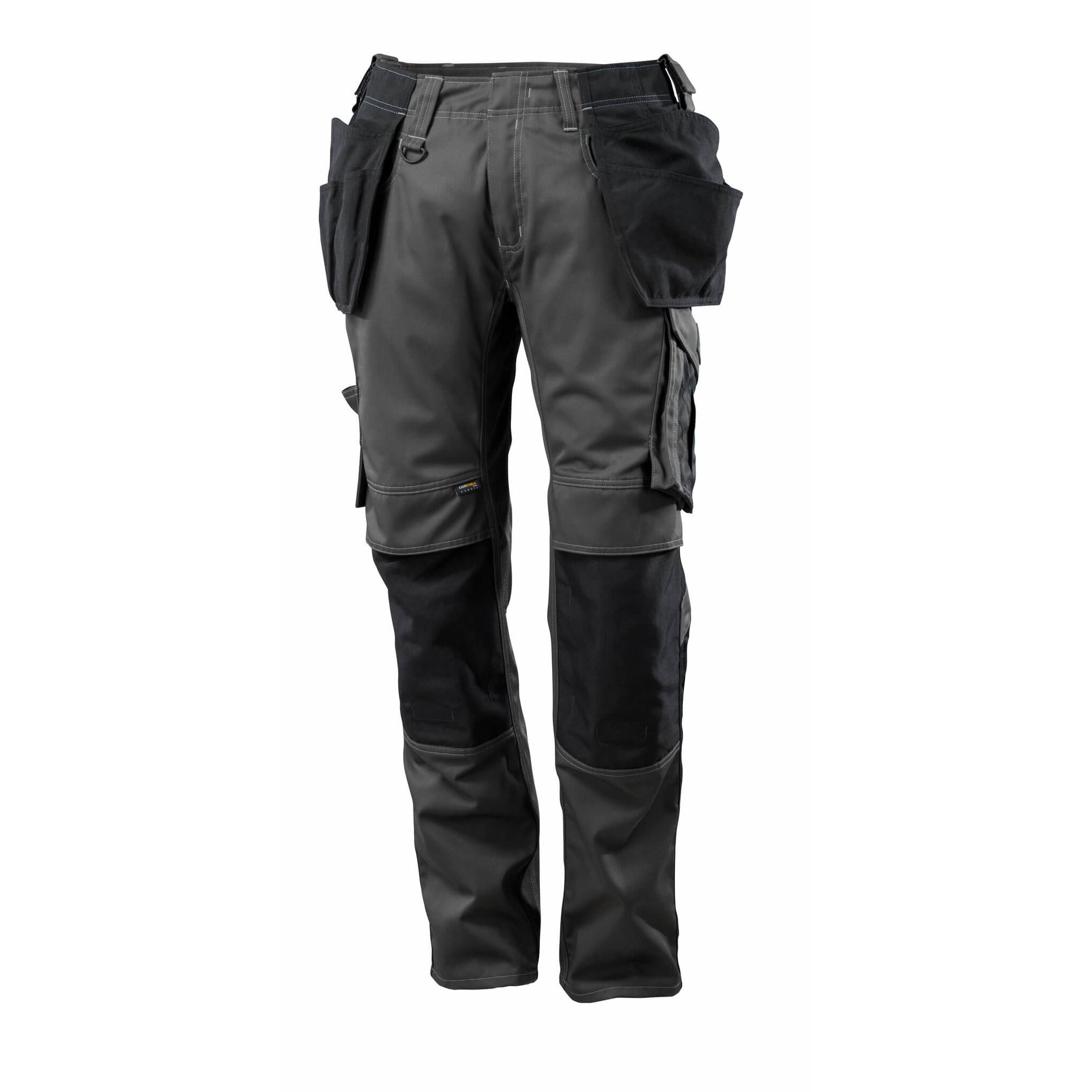 Pracovné nohavice MASCOT - UNIQUE Kassel, čierna farba