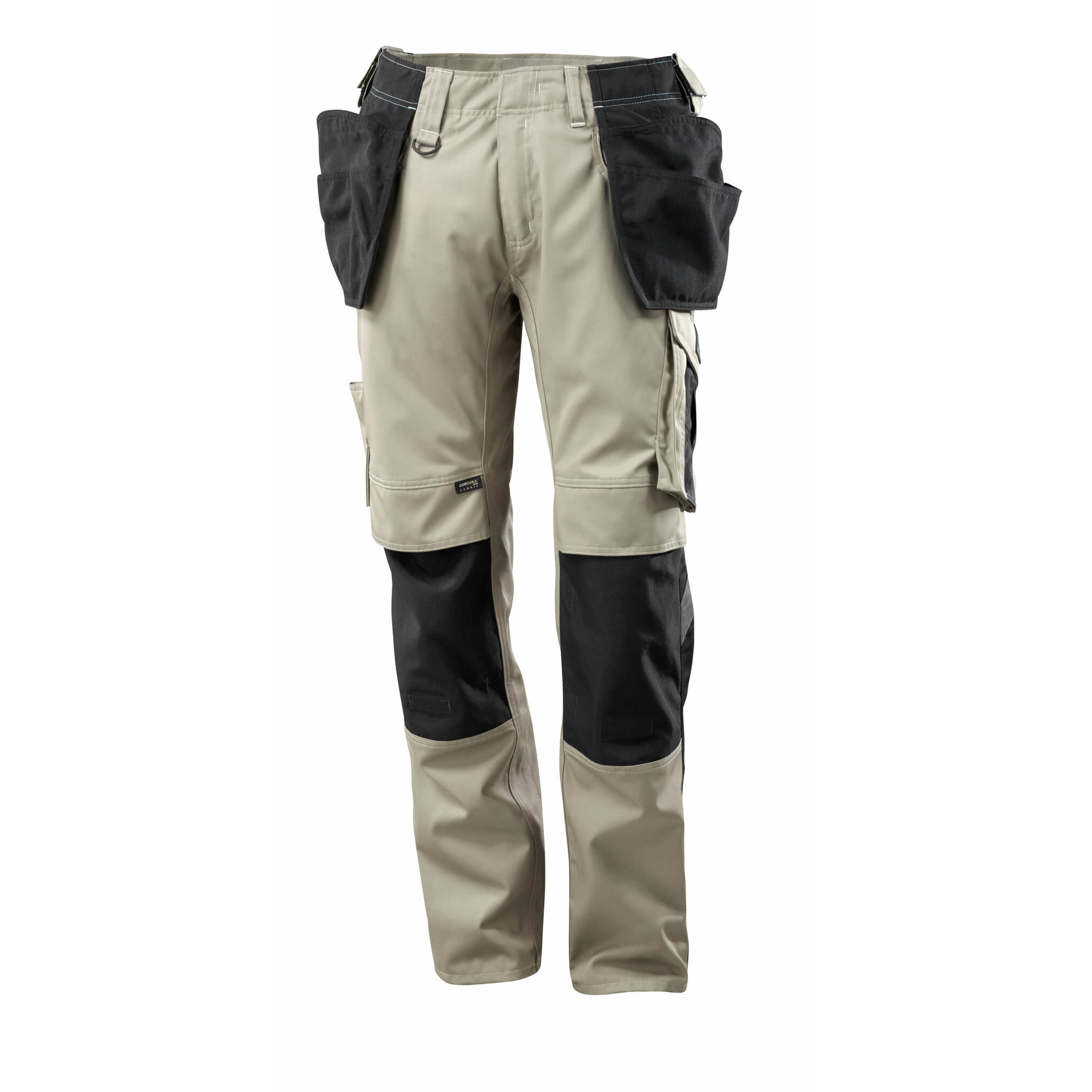 Pracovné nohavice MASCOT - UNIQUE Kassel, khaki farba
