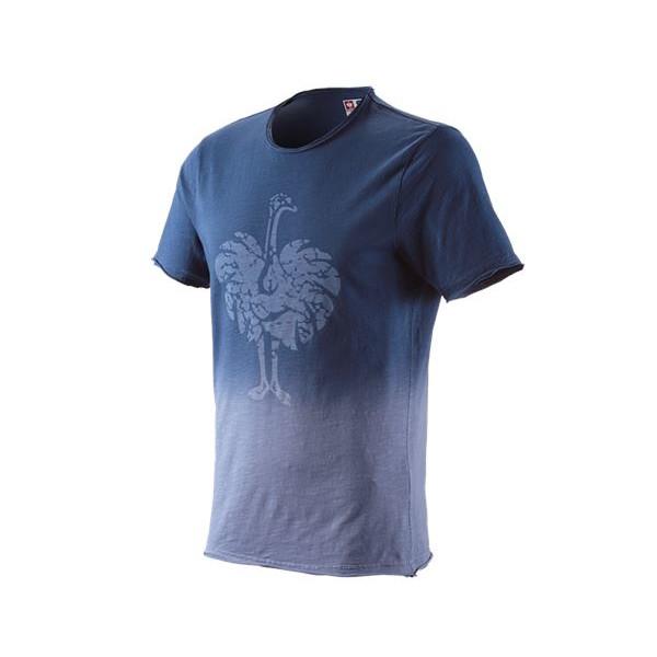 engelbert strauss tričko ostrich, modré