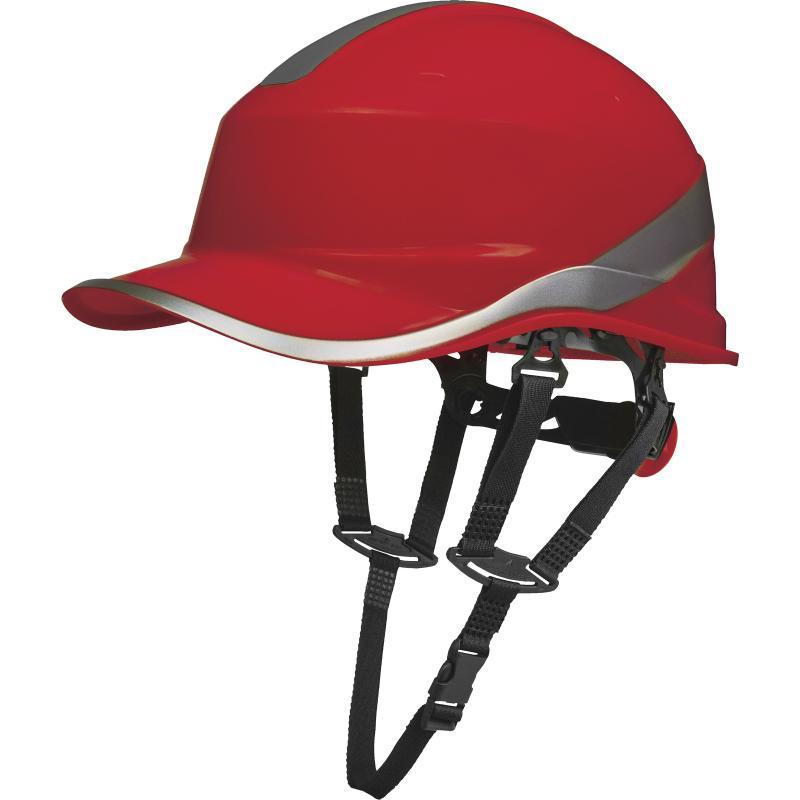 Bezpečnostná prilba Delta Plus BASEBALL DIAMOND V UP červená
