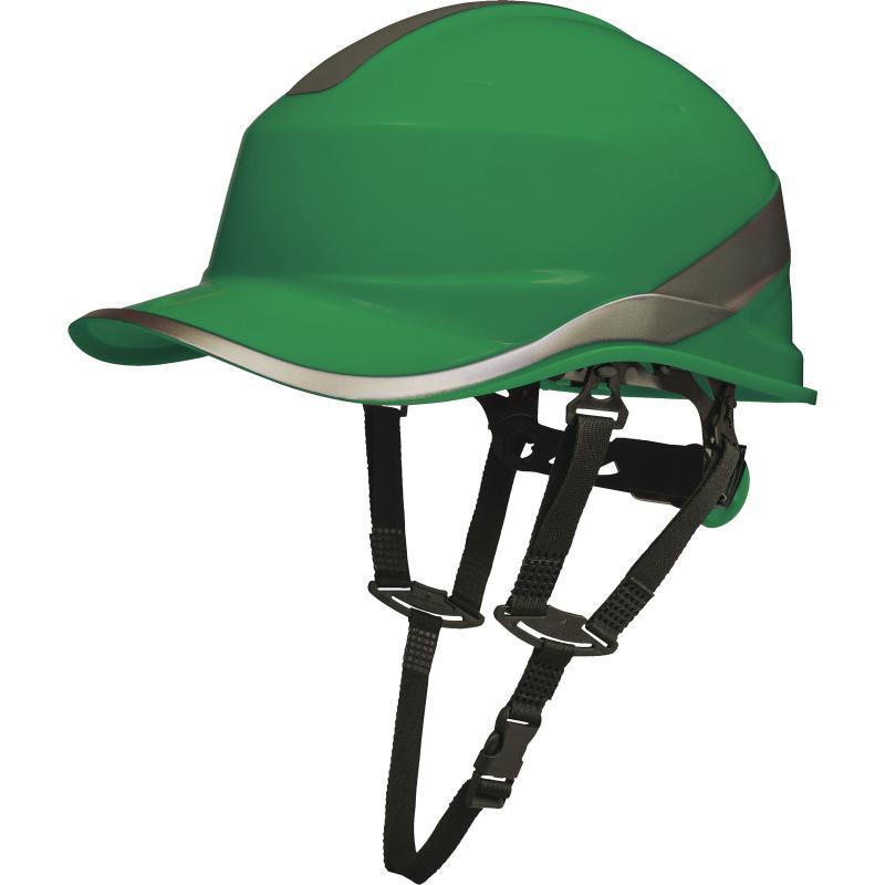 Bezpečnostná prilba Delta Plus BASEBALL DIAMOND V UP zelená