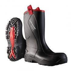 Dunlop gumáky Purofort Rugged S5, čierne