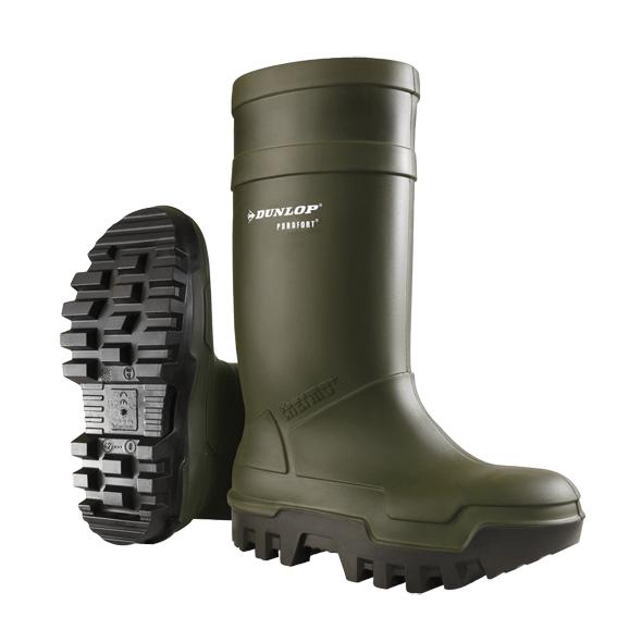 Dunlop gumáky Purofort Thermo+ S5, zelené