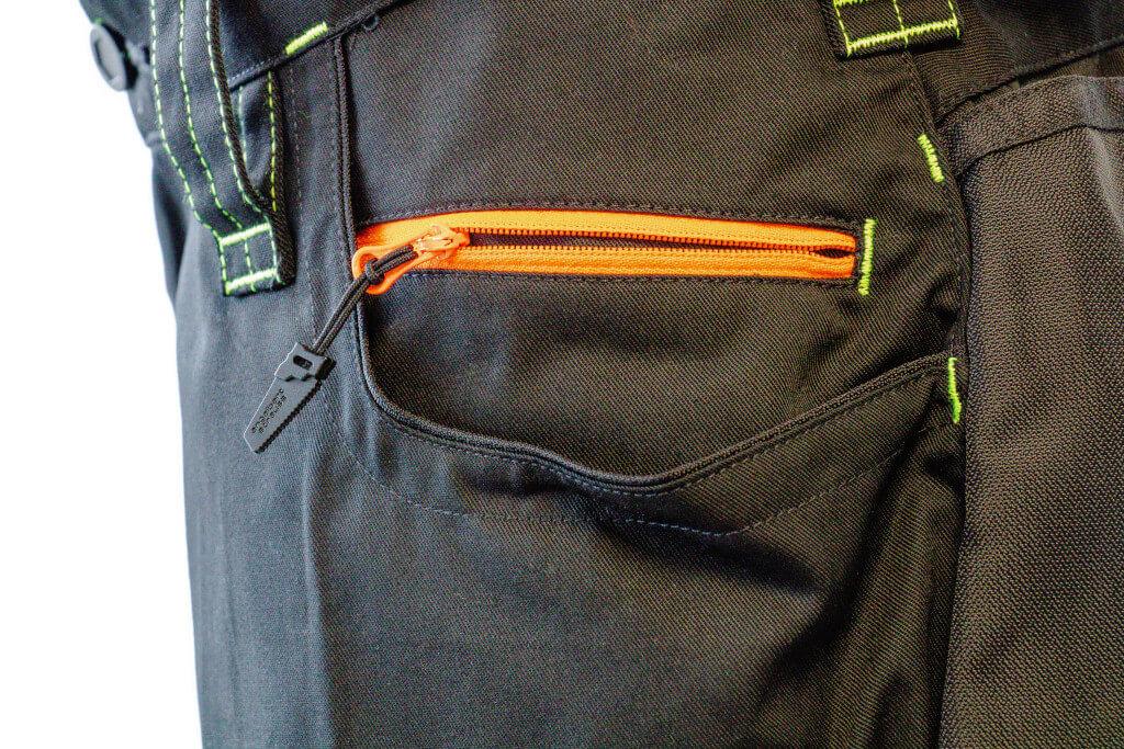 Recenzia strauss montérky, bezpečné vrecko