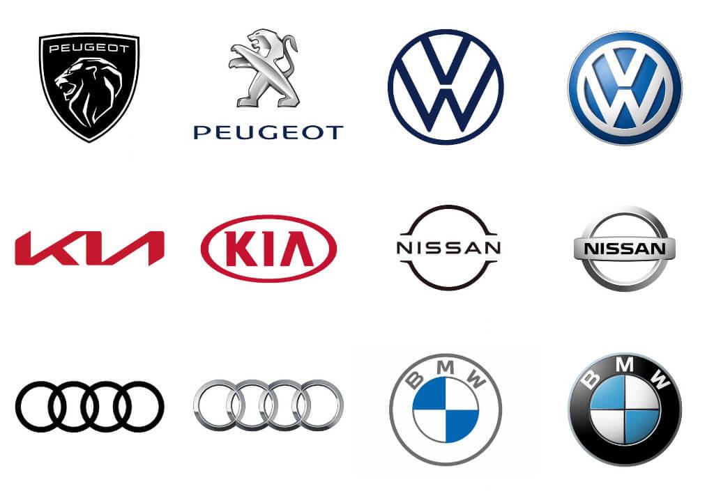 Zmena loga pri automobilkách