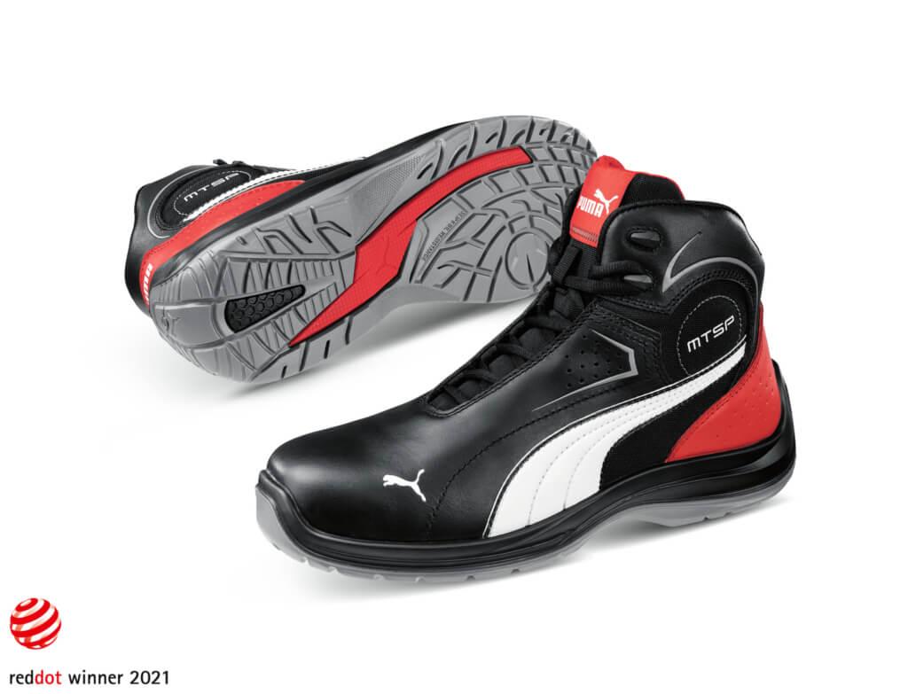 Pracovná obuv Puma Safety Touring Black
